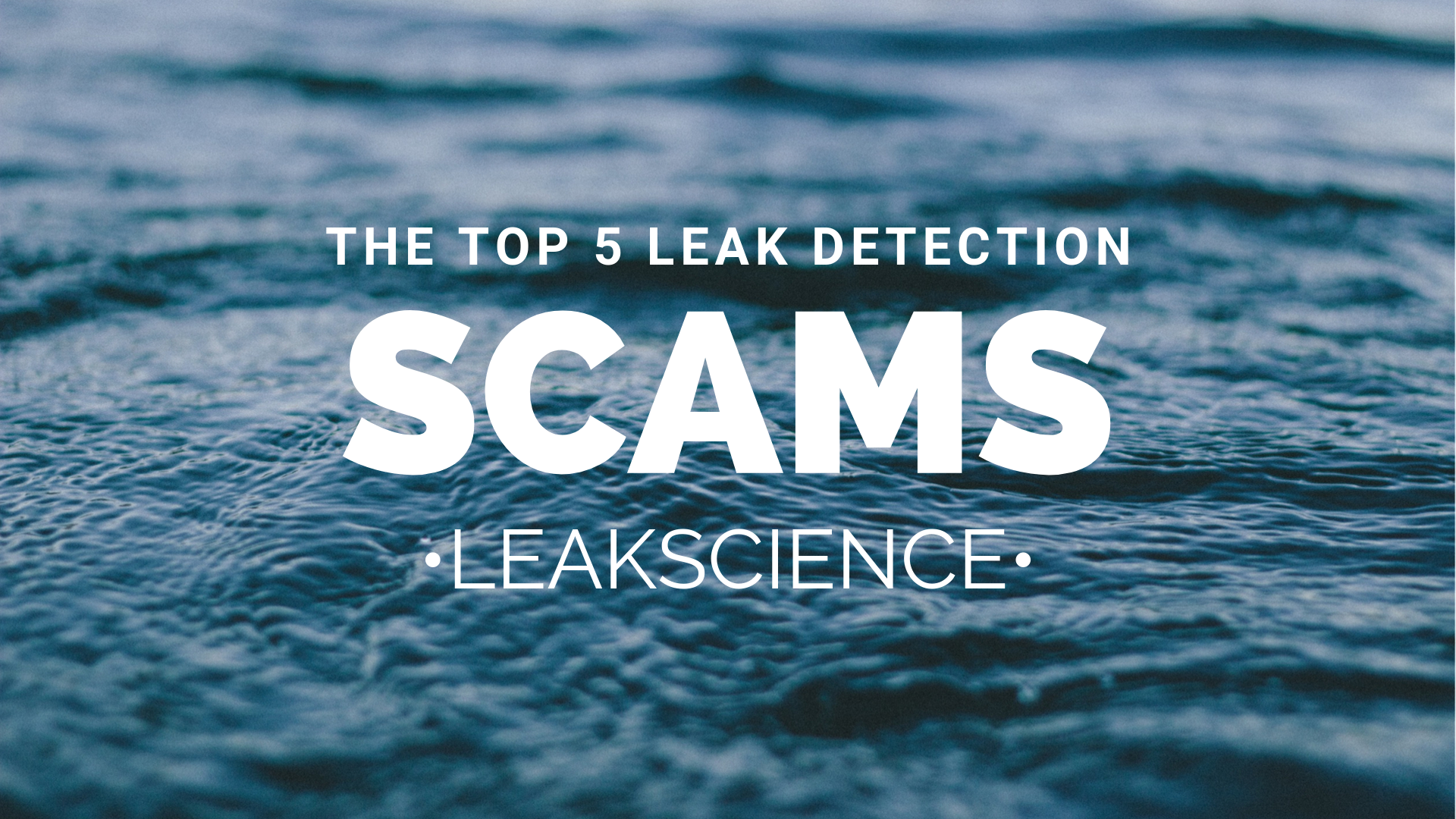 5 leak detection scams